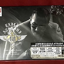 放浪兄弟 EXILE ATSUSHI 40 forty (日版初回CD 2枚組+Blu-ray Disc 4枚組) BD