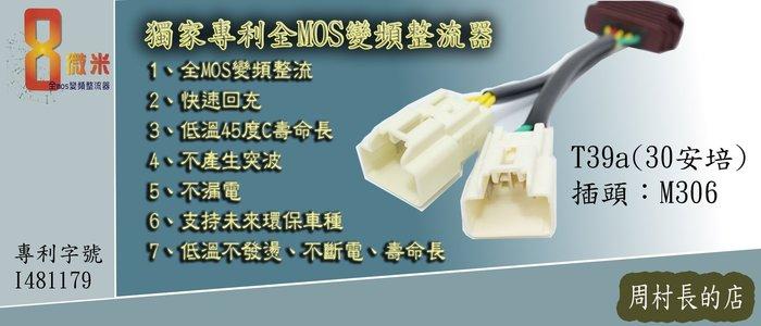 機車全MOS變頻整流器  FIGHTER 6代 JETS 8微米 專利技術 低溫不發燙不斷電 (T39a-M306)