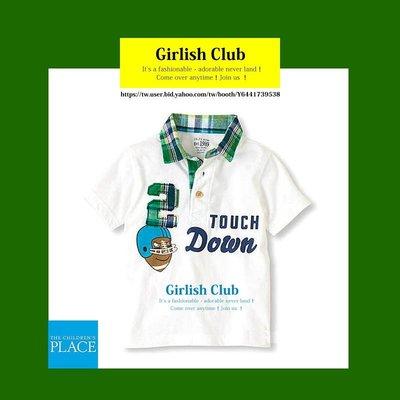 【Girlish Club】the children's place男童polo衫上衣2T(c337)gap二七一元起標