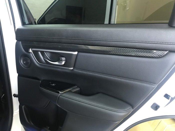 九七八汽車精品 本田 HONDA CRV5 CRV-5 水轉 卡夢 四門 環艙飾條 密合度優 可防刮傷原車飾板 五代 !