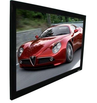 Elite Screens 100吋 R100WH1 頂級加大固定框架幕-4K劇院雪白 比例16:9 新竹縣