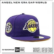 【ANGEL NEW ERA】NBA 洛杉磯湖人KOBE BRYANT退休紀念帽 59FIFTY 黑曼巴 109
