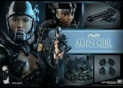 Hottoys 玩具狂熱異形女 1:6 12吋 figure 林祥焜HAS002 AVP ALIEN VS PREDATOR ALIEN GIRL