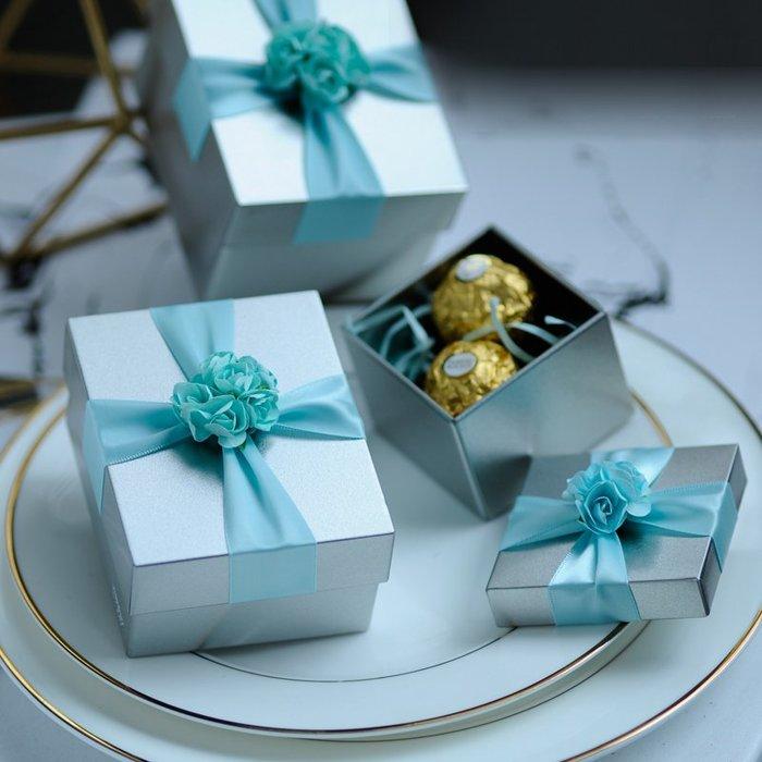 衣萊時尚-熱賣款  喜糖盒 馬口鐵盒創意婚慶用品歐式糖果包裝盒TH