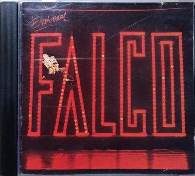《絕版專賣》Falco 法爾可 / Emotional 多愁善感 (德版.全銀圈.無IFPI)