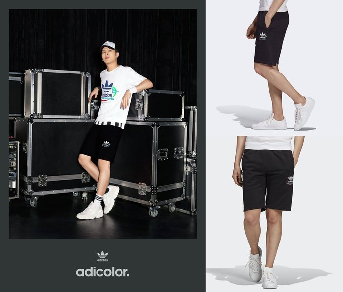 【Dr.Shoes 】Adidas Originals Shorts 男裝 黑 休閒 運動短褲 FQ4683
