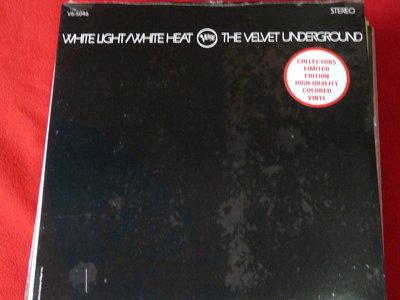 The Velvet Underground/White Light/White Heat/彩色膠片未拆封AMG五顆星