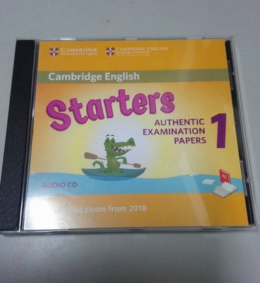 Cambridge English Starters 1 Audio CD for Revised Exam 台南市