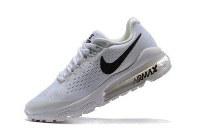 D-BOX NIKE Air VaporMax Flyknit 半掌氣墊 白色 黑勾 慢跑鞋 編織