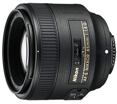 Nikon AF-S 85mm f/1.8G 鏡頭 晶豪泰3C 專業攝影 平輸