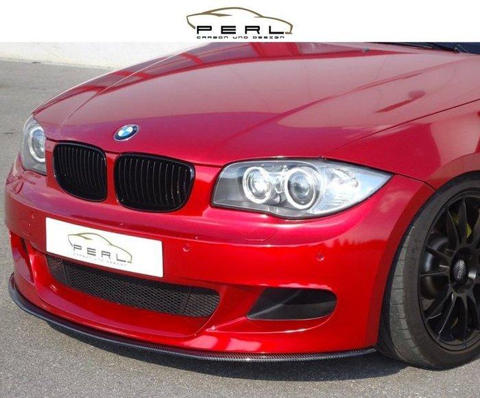 【樂駒】Perl Carbon Design BMW E81 E88 碳纖維 M Performance 前下擾流