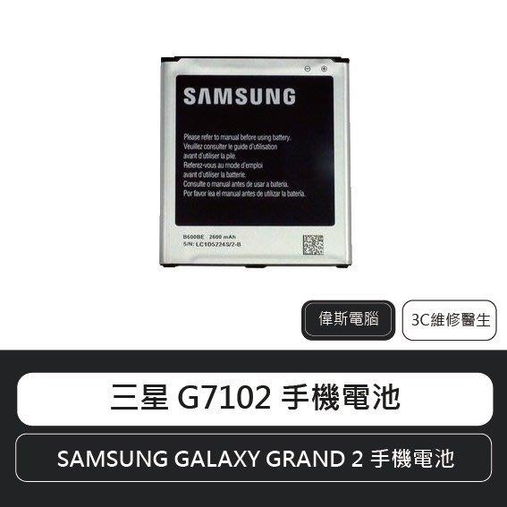 ☆偉斯科技☆三星 SAMSUNG GALAXY GRAND 2/Prime G530 G7102原廠電池 鋰電池