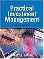 古集二手書 ~Practical Investment Management : With Infotrac 0324019149