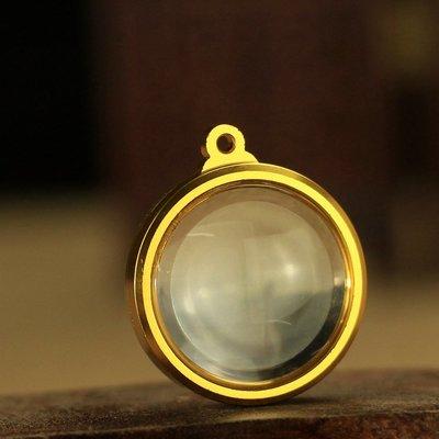 「還願佛牌」藏傳 密宗 圓形 透明 壓克力 球形 佛塔 嘎烏盒 路翁殼 佛牌殼