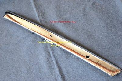 ※寶捷國際※ 2006 NISSAN TIIDA (C11) 4D 後箱蓋鍍鉻飾條 I-Key 有/無 台灣製造