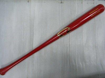 新莊新太陽 Dinger Bats 丁格 職業 楓木 實心 棒球棒 紅 D-174 棒型 特3990