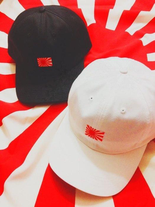{ POISON } KYOTO STREET KYOTO JAPAN LIFE CAP 日章旗 日之丸刺繡 彎延老帽