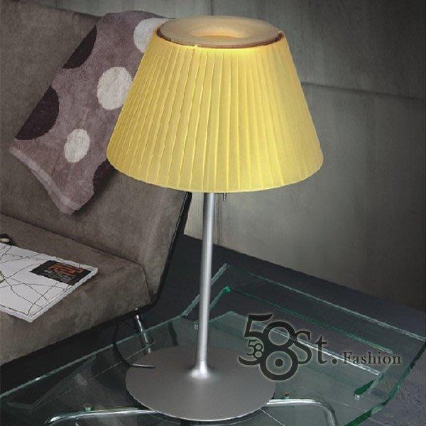 【58街】羅密歐台燈「ROMEO SOFT T1布罩台燈,3段觸控式開關」檯燈。複刻版。GL-074