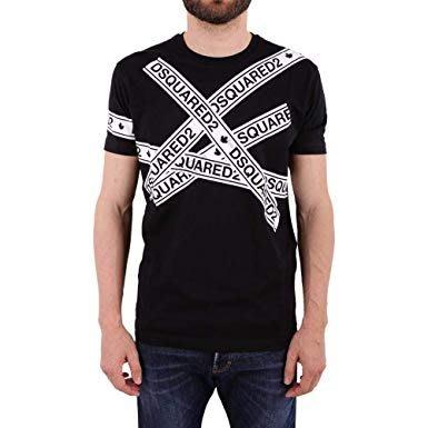 代購 DSQUARED 2 短T恤 黑