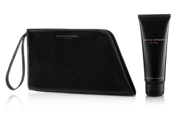 時尚設計感 專櫃滿額禮 NARCISO RODRIGUEZ 造型感手拿包 手腕包 化妝包 手機皮夾 小款(NBS15)