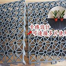 【園藝城堡】組合墊高墊 防潮墊 隔離墊 防水隔離墊 塑膠棧板 塑膠地墊 加強型排水墊 排水板 置高墊 DIY組裝方便