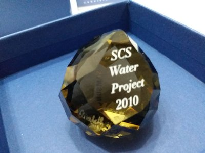 Swarovski Crystal 2010 Water Project MIB