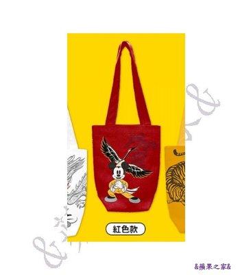 &蘋果之家&現貨-7-11米奇金鼠年系列小提包-紅色款