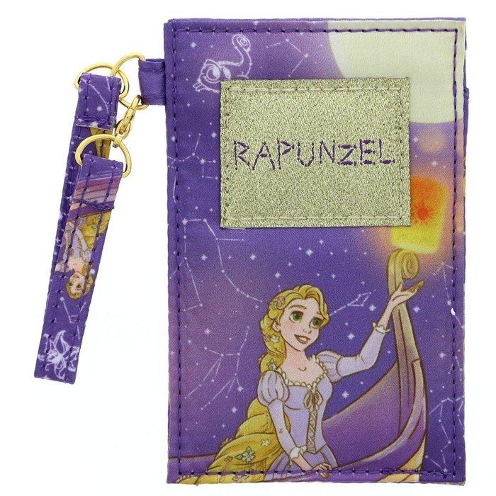 迪士尼Disney公主系列《現貨7折》樂佩 寧靜星空緞面閃光 卡片夾悠遊卡夾識別證夾~日本正品~心心小舖