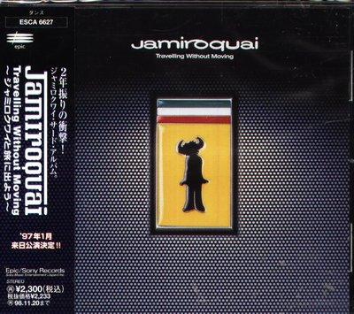 K - Jamiroquai - TRAVELLING WITHOUT - 日版 +1BONUS - NEW