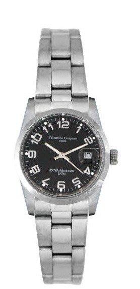 (六四三精品)Valentino coupeau(真品)(全不銹鋼)精準女錶(附保証卡)12168SL-19