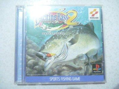 【~嘟嘟電玩屋~】PS 日版光碟 ~ 激爆巴斯釣魚2 EXCITING  BASS 2