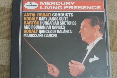 TAS,Mercury-Dorati conduct kodaly. Bartok-美版,有IFPI