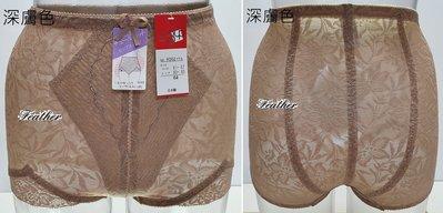 【Feather Living Shop】日本製 透氣 提臀 束褲 9002 (四色四段)