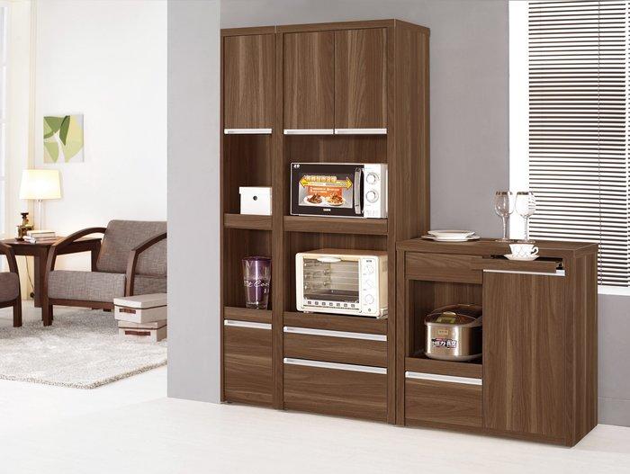 CH408-3 維爾達2尺餐櫃&2.6尺高餐櫃/大台北地區/系統家具/沙發/床墊/茶几/高低櫃/子母床/訂作家具/1元起