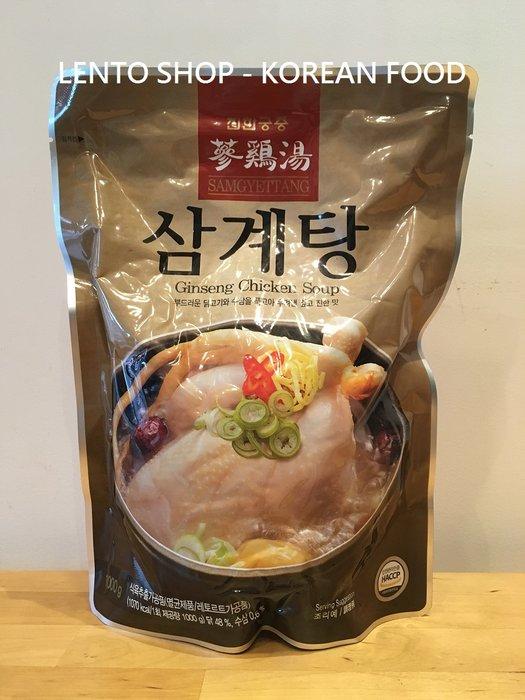 LENTO SHOP - 韓國原裝進口  真韓 人蔘雞 人蔘雞湯  Ginseng Chicken Soup 1公斤/包