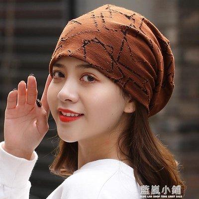 包頭帽女封頂棉質月子套頭化療帽子女薄夏透氣光頭帽堆堆帽空調帽 小鋪