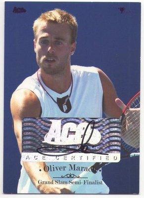 網球 2012 ACE Grand Slam  男單好手 Oliver Marach 簽名卡 ~~