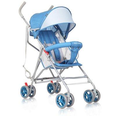 呵寶嬰兒推車輕便易攜可坐可半躺兒童手推車摺疊簡易傘車bb推車夏