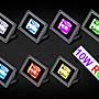 LED10W 變色 投射燈~ 廣告~ 招牌燈飾 10W 850...