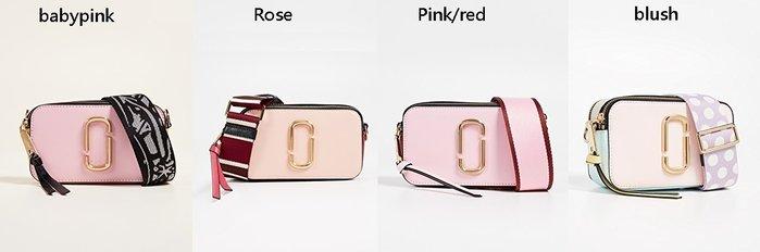 ◎美國代買◎Marc Jacobs snapshop粉紅色系列經典斜肩背相機包