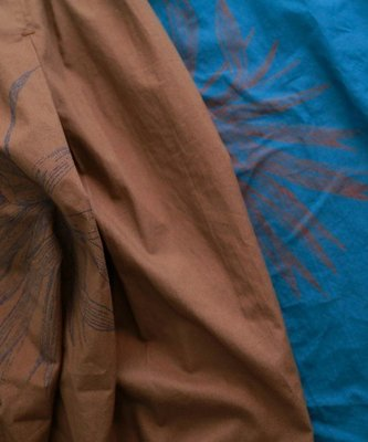 |The Dood Life|FIL DE FER アガベプリント シャツワンピース / 秋日的龍舌蘭 2WAY洋裝