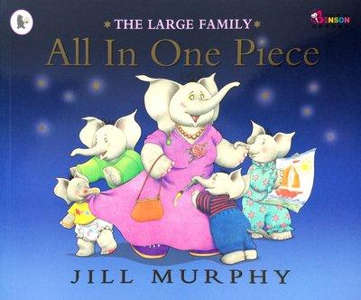 [邦森外文書] 全都在一塊 大象家族系列 The Large Family: All In One Piece