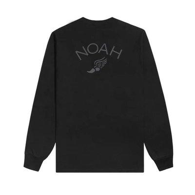 Noah 20FW Winged Foot Reflective Tee 飛翼 翅膀 反光 圓領圖案長袖T恤 大學T