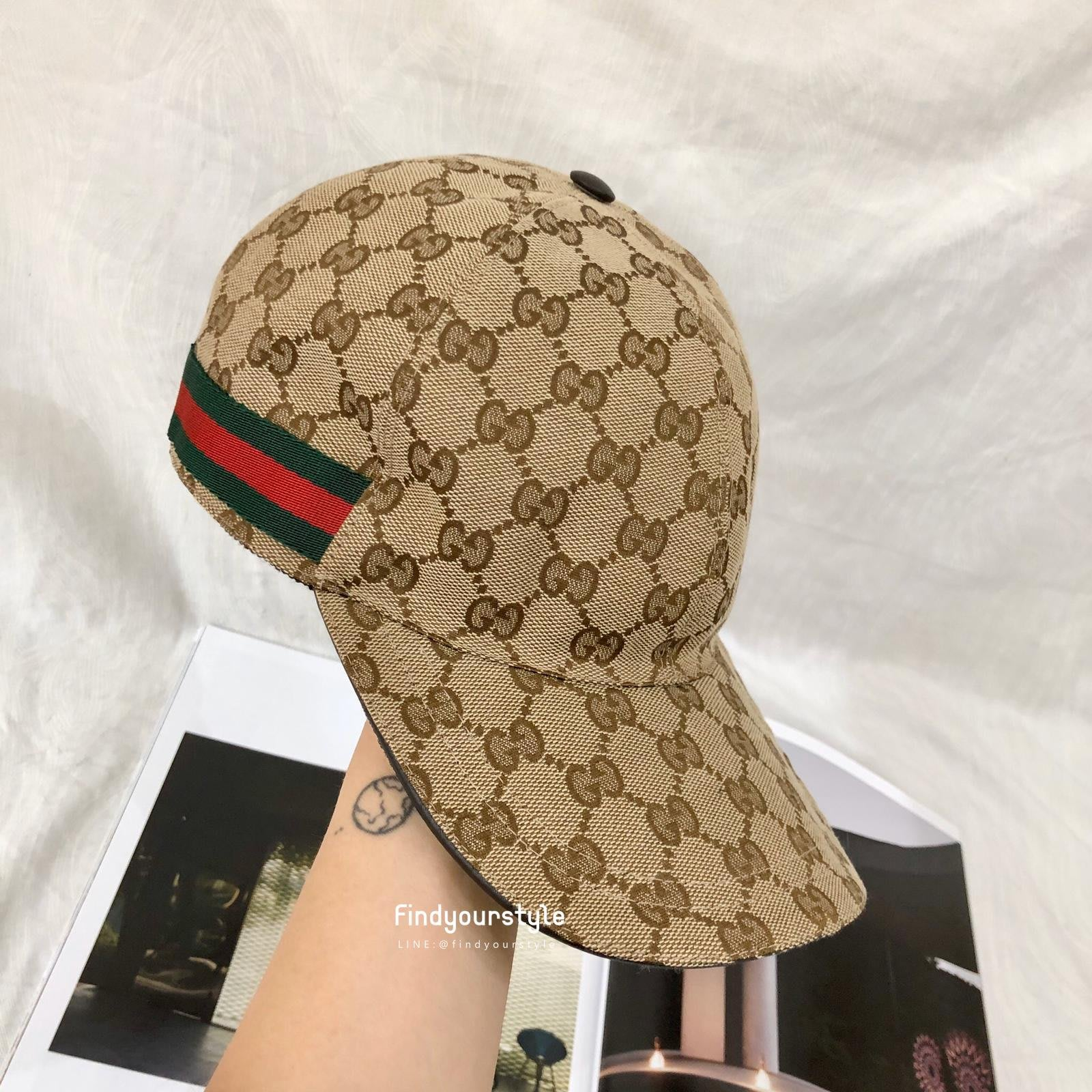 Findyourstyle正品代購Gucci老花棒球帽