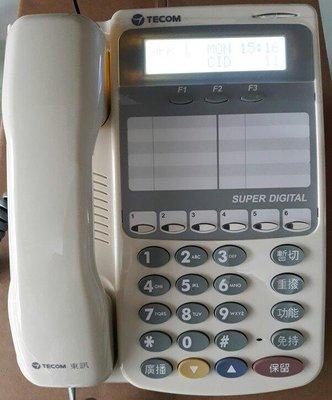 大台北科技~TECOM SD-7706EX 適用 東訊 DX SD 616A 2488 KTS SDX500