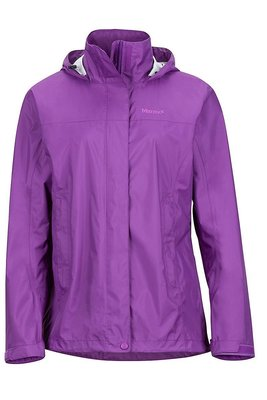 【Marmot】『零碼出清』46200-6238 淺紫色 美國 女 PreCip 土撥鼠 防水外套 類GORE-TEX