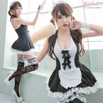 女僕裝 蘿莉小女僕7件組 中尺碼(M~L) 角色扮演蕾絲洋裝 愛衣朵拉C152