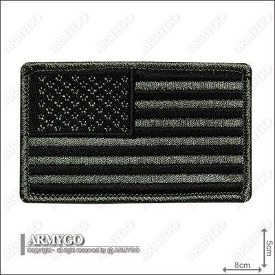 【ARMYGO】美軍低視度 - 美國國旗 (朝左版)