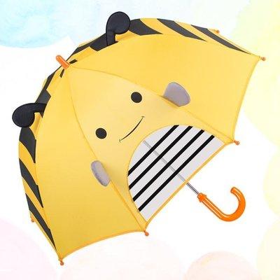 兒童雨傘女卡通超輕直柄公主寶寶幼兒園小...