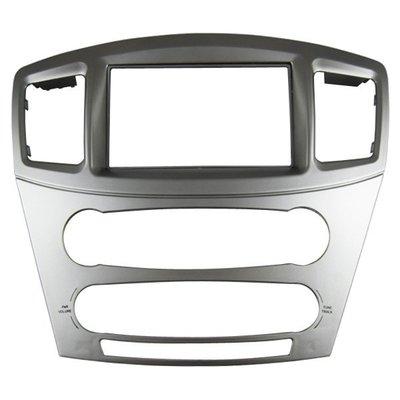 俗很大~三菱 GRUNDER 銀色面板框 改裝2DIN 大面板主機 面板框